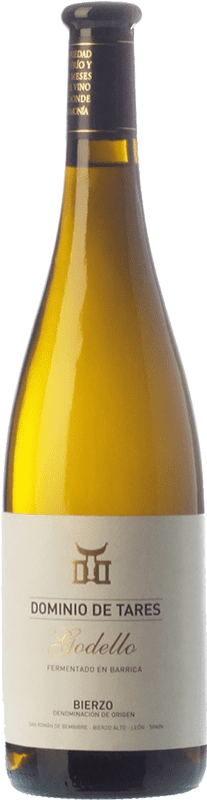 15,95 € Free Shipping | White wine Dominio de Tares Crianza D.O. Bierzo Castilla y León Spain Godello Bottle 75 cl