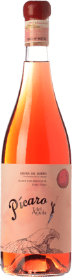 62,95 € Free Shipping | Rosé wine Dominio del Águila Pícaro del Águila Clarete D.O. Ribera del Duero Castilla y León Spain Tempranillo, Grenache, Bobal, Albillo Magnum Bottle 1,5 L