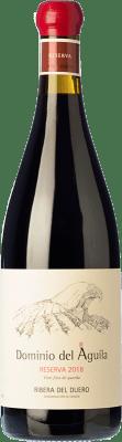 79,95 € Envoi gratuit | Vin rouge Dominio del Águila Reserva D.O. Ribera del Duero Castille et Leon Espagne Tempranillo, Grenache, Bobal, Albillo Bouteille 75 cl