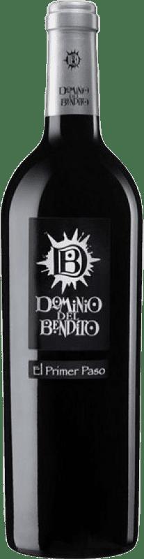 13,95 € Envío gratis | Vino tinto Dominio del Bendito El Primer Paso Joven D.O. Toro Castilla y León España Tinta de Toro Botella 75 cl