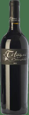 59,95 € Envío gratis | Vino tinto Dominio del Bendito El Titán Crianza D.O. Toro Castilla y León España Tinta de Toro Botella 75 cl
