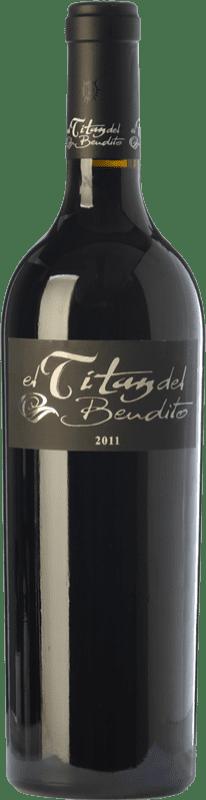 59,95 € Envoi gratuit | Vin rouge Dominio del Bendito El Titán Crianza D.O. Toro Castille et Leon Espagne Tinta de Toro Bouteille 75 cl