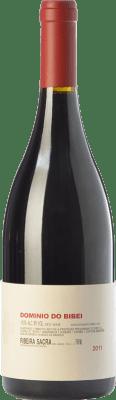 38,95 € Free Shipping | Red wine Dominio do Bibei Caiño Crianza 2011 D.O. Ribeira Sacra Galicia Spain Caíño Black Bottle 75 cl