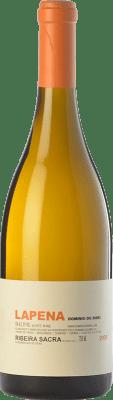 59,95 € Kostenloser Versand | Weißwein Dominio do Bibei Lapena Crianza D.O. Ribeira Sacra Galizien Spanien Godello Flasche 75 cl