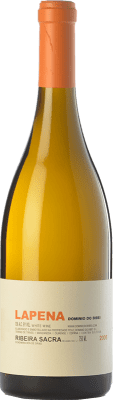 59,95 € Free Shipping | White wine Dominio do Bibei Lapena Crianza D.O. Ribeira Sacra Galicia Spain Godello Bottle 75 cl