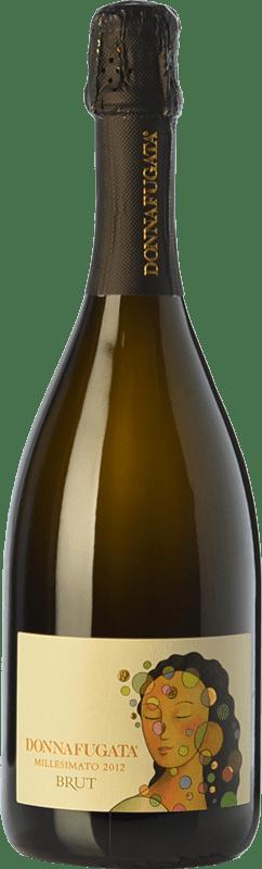 23,95 € Free Shipping   White sparkling Donnafugata Bianco Brut I.G.T. Terre Siciliane Sicily Italy Pinot Black, Chardonnay Bottle 75 cl