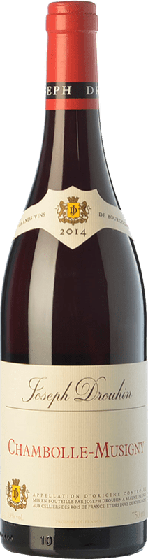 99,95 € Free Shipping | Red wine Drouhin Crianza A.O.C. Chambolle-Musigny Burgundy France Pinot Black Bottle 75 cl