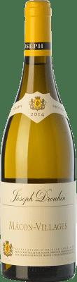 15,95 € Envoi gratuit | Vin blanc Drouhin A.O.C. Mâcon-Villages Bourgogne France Chardonnay Bouteille 75 cl