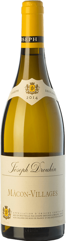 15,95 € Free Shipping | White wine Drouhin A.O.C. Mâcon-Villages Burgundy France Chardonnay Bottle 75 cl