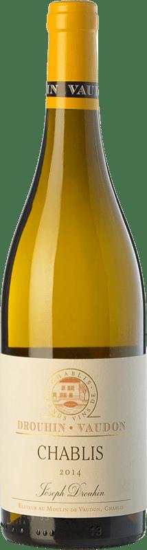 23,95 € Free Shipping | White wine Drouhin A.O.C. Chablis Burgundy France Chardonnay Bottle 75 cl