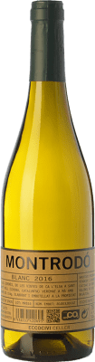 9,95 € Free Shipping   White wine Eccociwine Montrodó Blanc Spain Viognier, Chardonnay Bottle 75 cl