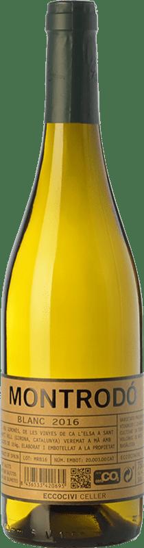 9,95 € Envoi gratuit   Vin blanc Eccociwine Montrodó Blanc Espagne Viognier, Chardonnay Bouteille 75 cl