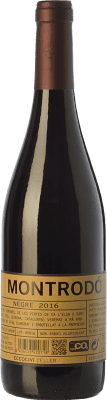 7,95 € Envío gratis | Vino tinto Eccociwine Montrodó Negre Joven España Merlot, Cabernet Sauvignon, Cabernet Franc, Petit Verdot Botella 75 cl