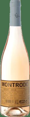 8,95 € Envío gratis | Vino rosado Eccociwine Montrodó Rosat España Merlot, Petit Verdot Botella 75 cl