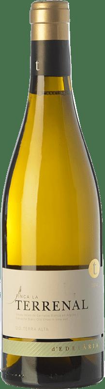 44,95 € Free Shipping | White wine Edetària Finca La Terrenal Crianza D.O. Terra Alta Catalonia Spain Grenache White Bottle 75 cl