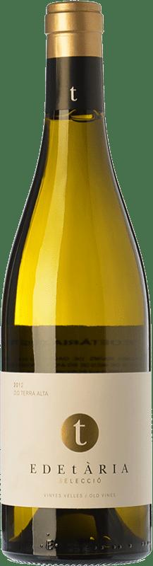 26,95 € Envío gratis | Vino blanco Edetària Selecció Blanc Crianza D.O. Terra Alta Cataluña España Garnacha Blanca Botella 75 cl