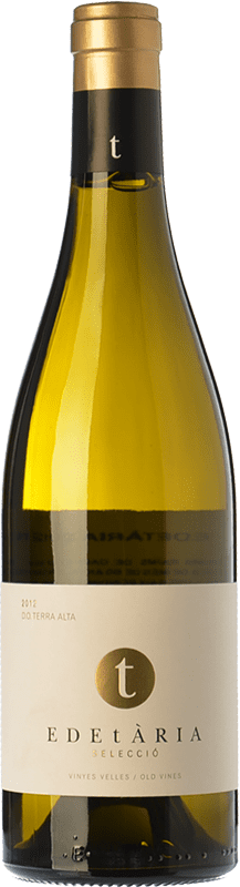 26,95 € Free Shipping | White wine Edetària Selecció Blanc Crianza D.O. Terra Alta Catalonia Spain Grenache White Bottle 75 cl