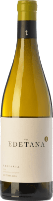 12,95 € Kostenloser Versand | Weißwein Edetària Via Edetana Blanc Crianza D.O. Terra Alta Katalonien Spanien Grenache Weiß, Viognier Flasche 75 cl