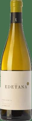 12,95 € Free Shipping | White wine Edetària Via Edetana Blanc Crianza D.O. Terra Alta Catalonia Spain Grenache White, Viognier Bottle 75 cl