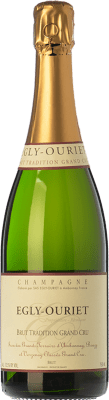 69,95 € Free Shipping | White sparkling Egly-Ouriet Tradition Grand Cru Brut A.O.C. Champagne Champagne France Pinot Black, Chardonnay Bottle 75 cl. | Thousands of wine lovers trust us to get the best price guarantee, free shipping always and hassle-free shopping and returns.