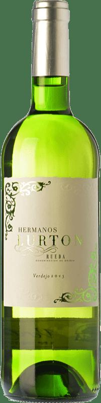 9,95 € Envoi gratuit   Vin blanc Albar Lurton Verdejo D.O. Rueda Castille et Leon Espagne Viura, Verdejo Bouteille 75 cl