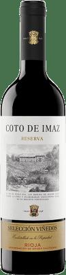 15,95 € Envío gratis | Vino tinto Coto de Rioja Coto de Imaz Selección Viñedos Reserva D.O.Ca. Rioja La Rioja España Tempranillo Botella 75 cl