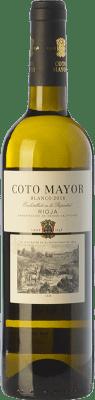5,95 € Envío gratis | Vino blanco Coto de Rioja Coto Mayor D.O.Ca. Rioja La Rioja España Viura, Sauvignon Blanca Botella 75 cl