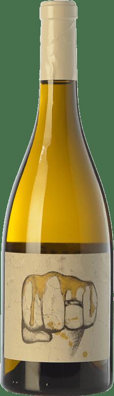 23,95 € Free Shipping | White wine El Escocés Volante El Puño Crianza D.O. Calatayud Aragon Spain Grenache White, Viognier, Macabeo Bottle 75 cl