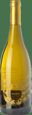 14,95 € Free Shipping | White wine El Grillo y la Luna 12 Lunas D.O. Somontano Aragon Spain Chardonnay, Gewürztraminer Bottle 75 cl