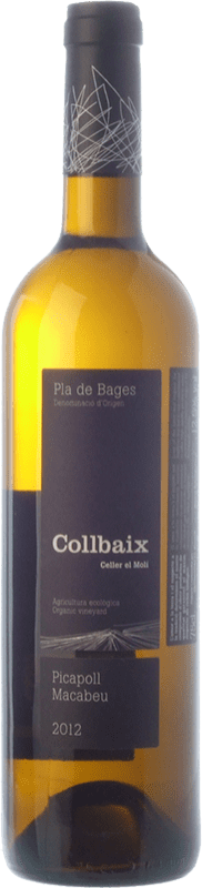 11,95 € Free Shipping | White wine El Molí Collbaix D.O. Pla de Bages Catalonia Spain Macabeo, Picapoll Bottle 75 cl