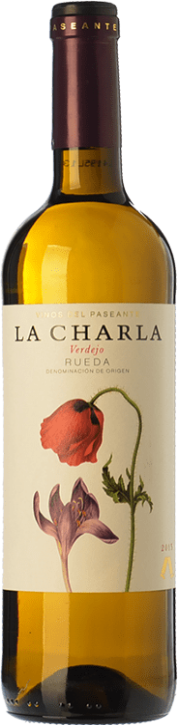 6,95 € Envío gratis | Vino blanco El Paseante La Charla D.O. Rueda Castilla y León España Verdejo Botella 75 cl