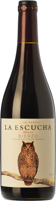 12,95 € Free Shipping | Red wine El Paseante La Escucha Joven D.O. Bierzo Castilla y León Spain Mencía Bottle 75 cl