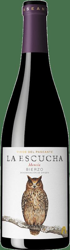 12,95 € 免费送货   红酒 El Paseante La Escucha Joven D.O. Bierzo 卡斯蒂利亚莱昂 西班牙 Mencía 瓶子 75 cl
