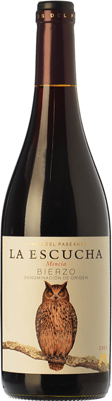 11,95 € Envío gratis | Vino tinto El Paseante La Escucha Crianza D.O. Bierzo Castilla y León España Mencía Botella 75 cl