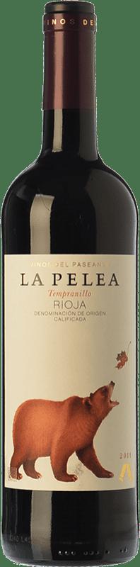 8,95 € Envio grátis | Vinho tinto El Paseante La Pelea Crianza D.O.Ca. Rioja La Rioja Espanha Tempranillo Garrafa 75 cl