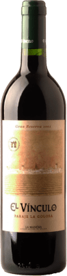 24,95 € Kostenloser Versand | Rotwein El Vínculo Paraje La Golosa Gran Reserva D.O. La Mancha Kastilien-La Mancha Spanien Tempranillo Flasche 75 cl