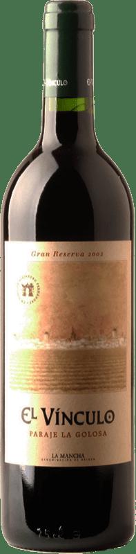 24,95 € Envío gratis   Vino tinto El Vínculo Paraje La Golosa Gran Reserva D.O. La Mancha Castilla la Mancha España Tempranillo Botella 75 cl