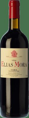 9,95 € Envío gratis | Vino tinto Elías Mora Viñas Joven D.O. Toro Castilla y León España Tinta de Toro Botella 75 cl