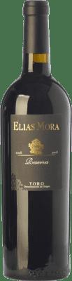 48,95 € Envío gratis | Vino tinto Elías Mora Reserva 2010 D.O. Toro Castilla y León España Tinta de Toro Botella 75 cl