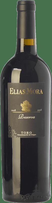 48,95 € Free Shipping | Red wine Elías Mora Reserva 2010 D.O. Toro Castilla y León Spain Tinta de Toro Bottle 75 cl