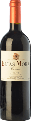 12,95 € Free Shipping | Red wine Elías Mora Crianza D.O. Toro Castilla y León Spain Tinta de Toro Bottle 75 cl