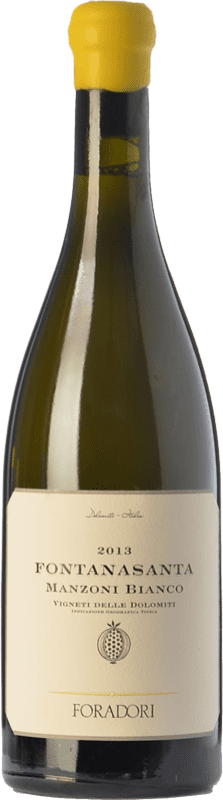 23,95 € Free Shipping | White wine Foradori Fontanasanta I.G.T. Vigneti delle Dolomiti Trentino Italy Manzoni Bianco Bottle 75 cl