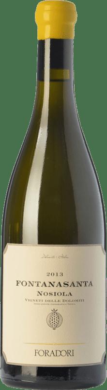 26,95 € Envío gratis | Vino blanco Foradori Fontanasanta I.G.T. Vigneti delle Dolomiti Trentino Italia Nosiola Botella 75 cl