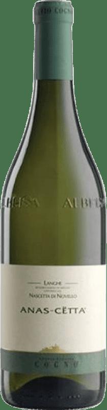 17,95 € Free Shipping | White wine Elvio Cogno Anas-Cetta D.O.C. Langhe Piemonte Italy Nascetta Bottle 75 cl