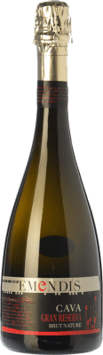 15,95 € Free Shipping   White sparkling Emendis Brut Nature Gran Reserva D.O. Cava Catalonia Spain Macabeo, Xarel·lo, Chardonnay, Parellada Bottle 75 cl.   Thousands of wine lovers trust us to get the best price guarantee, free shipping always and hassle-free shopping and returns.