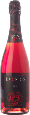 9,95 € Free Shipping | Rosé sparkling Emendis Rosé Brut D.O. Cava Catalonia Spain Trepat Bottle 75 cl | Thousands of wine lovers trust us to get the best price guarantee, free shipping always and hassle-free shopping and returns.