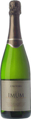 9,95 € Free Shipping | White sparkling Emendis Imum Brut Nature Reserva D.O. Cava Catalonia Spain Macabeo, Xarel·lo, Parellada Bottle 75 cl. | Thousands of wine lovers trust us to get the best price guarantee, free shipping always and hassle-free shopping and returns.