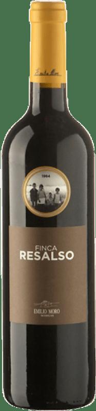 9,95 € Envío gratis | Vino tinto Emilio Moro Finca Resalso Joven D.O. Ribera del Duero Castilla y León España Tempranillo Botella 75 cl