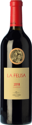 27,95 € Free Shipping | Red wine Emilio Moro La Felisa Crianza D.O. Ribera del Duero Castilla y León Spain Tempranillo Bottle 75 cl | Thousands of wine lovers trust us to get the best price guarantee, free shipping always and hassle-free shopping and returns.