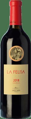 28,95 € Envío gratis | Vino tinto Emilio Moro La Felisa Crianza D.O. Ribera del Duero Castilla y León España Tempranillo Botella 75 cl